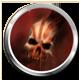 Ravaged Zombie Apocalypse Badge 2