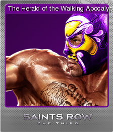 Saints Row The Third Foil 1