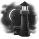 To the Moon Badge 1