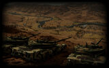Wargame Red Dragon Background K1 Tanks in formation