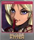 Blade Kitten Card 02 Foil
