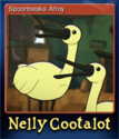 Nelly Cootalot The Fowl Fleet Card 1