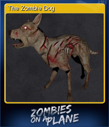 Zombies on a Plane Card 5