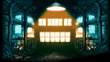 Double Dragon Neon Background Warehouse