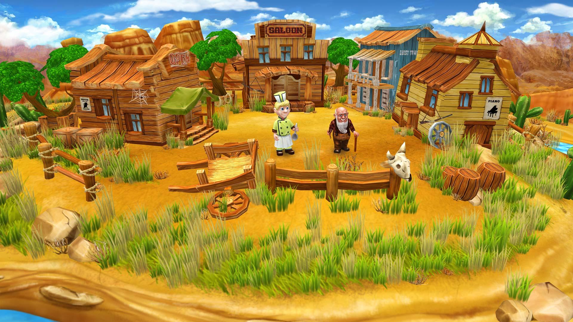 Farm Frenzy 4 - Saloon   Steam Trading Cards Wiki   FANDOM