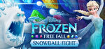 Frozen Free Fall Snowball Fight Logo