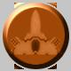 Gun Metal Badge 2