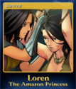 Loren The Amazon Princess Card 2