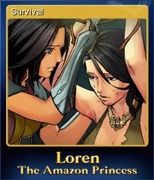 Loren The Amazon Princess Card 2