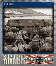 Supreme Ruler 1936 Foil 2