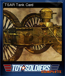 Toy Soldiers Complete Card 07