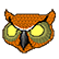 Hotline Miami Emoticon Owl