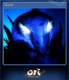 Ori and the Blind Forest - Kuro | Steam Trading Cards Wiki