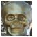 1,000 Heads Among the Trees Emoticon skullstatue