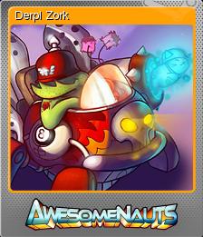 Awesomenauts Foil 5