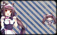 NEKOPARA Vol. 2 Background Chocola Puffed