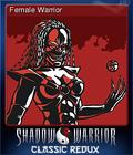 Shadow Warrior Classic Redux Card 2