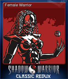 Shadow Warrior Classic Redux Card 2
