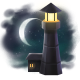 To the Moon Badge 2