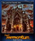 Tormentum Dark Sorrow Card 7