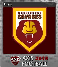 Axis Football 2015 Foil 7