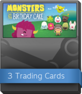 Monsters Ate My Birthday Cake Booster Pack