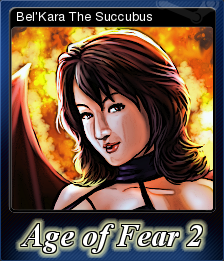 Age of Fear 2 The Chaos Lord Card 1
