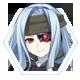 Hyperdevotion Noire Goddess Black Heart Badge 1