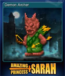 Amazing Princess Sarah Card 13