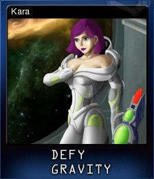 Defy Gravity Card 1