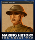 Making History The Great War Card 8