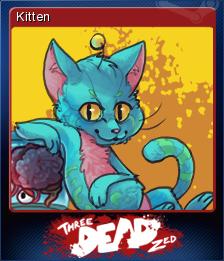 Three Dead Zed Card 4