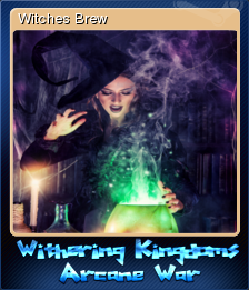 Withering Kingdom Arcane War Card 1
