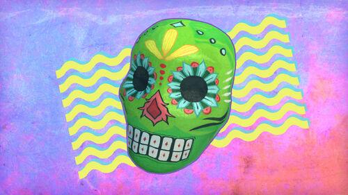 Gone Home Artwork 5 Calavera de la Dia