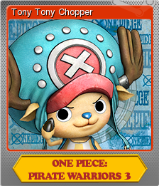 One Piece Pirate Warriors 3 Foil 7