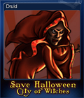 Save Halloween City of Witches Card 08