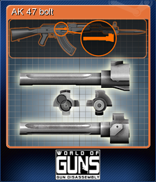 World of Guns Gun Disassembly Card 04