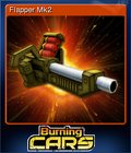 Burning Cars Card 3
