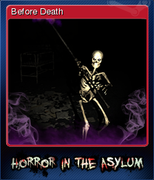 Horror in the Asylum Card 1