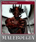Malebolgia Foil 3