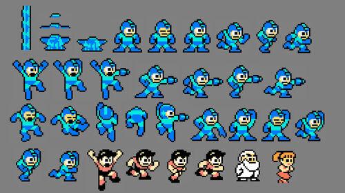 Mega Man Legacy Collection Artwork 8