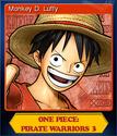 One Piece Pirate Warriors 3 Card 1