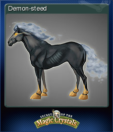 Secret of the Magic Crystals Card 4