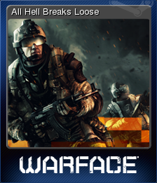Warface Card 6