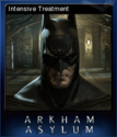Batman Arkham Asylum Game of the Year Edition Card 1