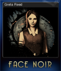 Face Noir Card 2