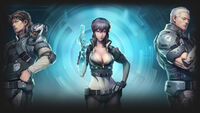 Ghost in the Shell Stand Alone Complex - First Assault Online Background Section 9