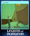 Legend of Dungeon Card 1