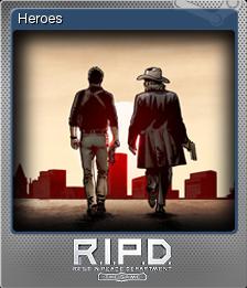 R.I.P.D. The Game Foil 9