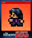 The Escapists The Walking Dead Card 1